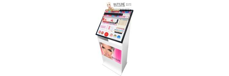 Expositor de cosmetica